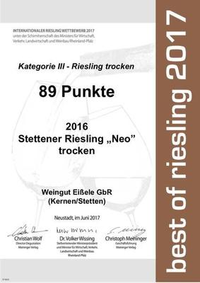best of Riesling 2017